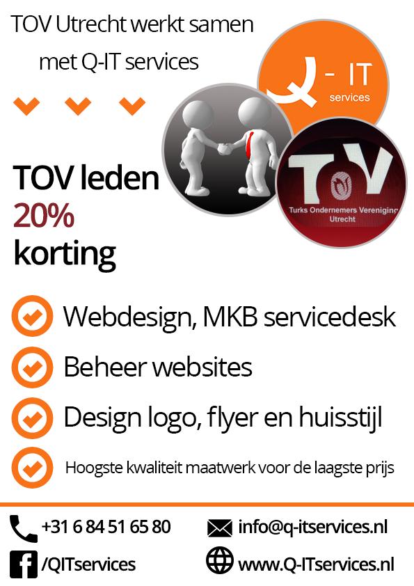 TOV werkt samen met Q-IT services